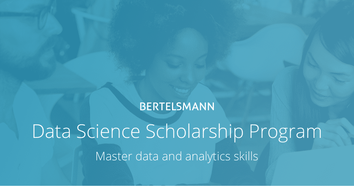 Udacity - Data Science Scholarship Program By Bertelsmann