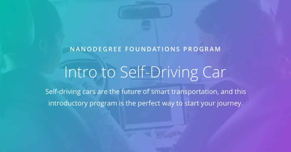 Udacity] Intro to Self-Driving Cars v1 0 0 Free Download