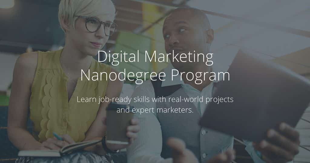 [Udacity] Digital Marketing Nanodegree v3.0.0