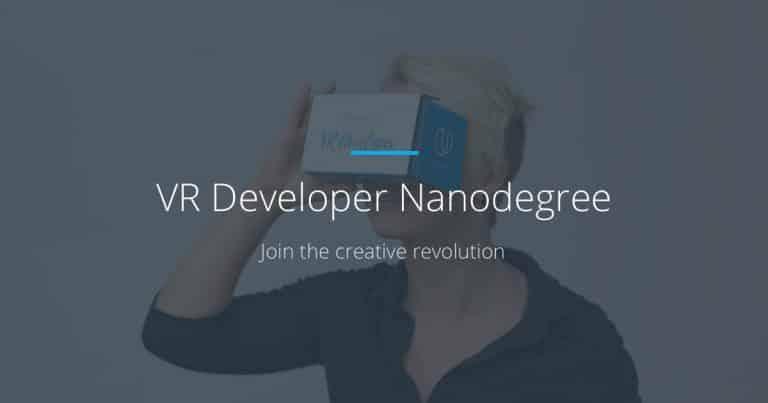 [Udacity] VR Developer Nanodegree