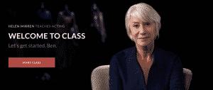 [MasterClass] HELEN MIRREN TEACHES ACTING