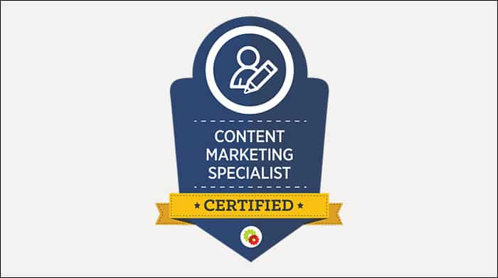[DigitalMarketer] Become a Certified Content Marketing Specialist