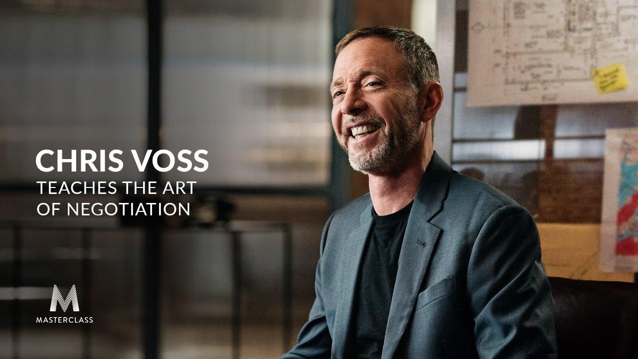 [MasterClass] Chris Voss Teaches the Art of Negotiation