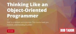 [Bobtabor] Thinking Like an Object-Oriented Programmer