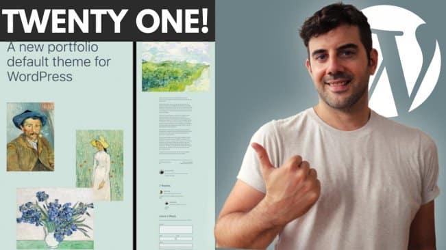[SkillShare] Twenty Twenty One Theme – Create a Niche Website!