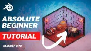 [SkillShare] Blender For Beginners: Making Your First 3D Scene